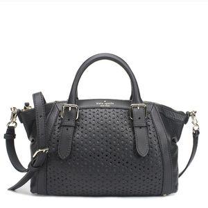 Kate Spade Mercer Isle Sloan Satchel Black Leather